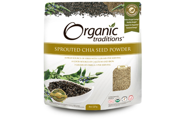 Chia Powder is full of fibre and good for colon health