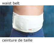 Back belt Thermoflow